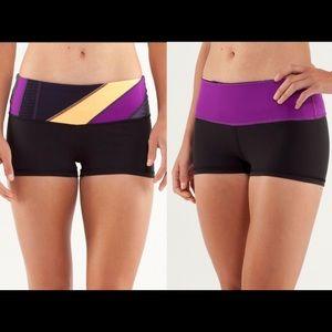 lululemon Boogie Reversible Shorts Black Quilt 4